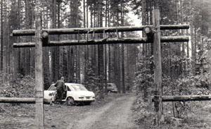 Kesäleirin leiriportti.