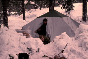 Legendaarinen teltta.